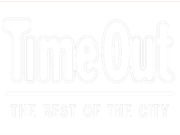 time out logo in white