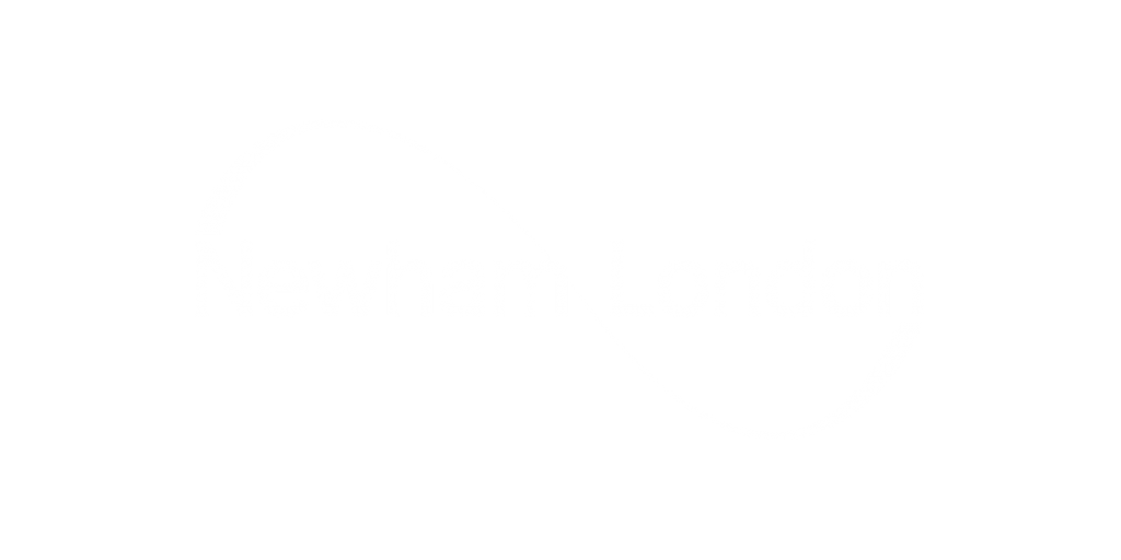 newham council logo in white
